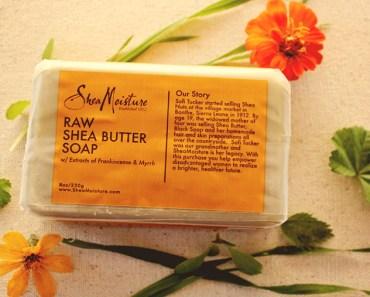 Shea moisture raw shea butter soap review