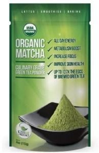 Matcha Green Tea for healthy skin