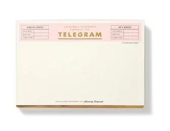 Kate Spade New York Notepad - Telegram