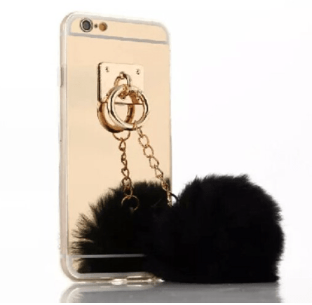 pom pom cell phone case