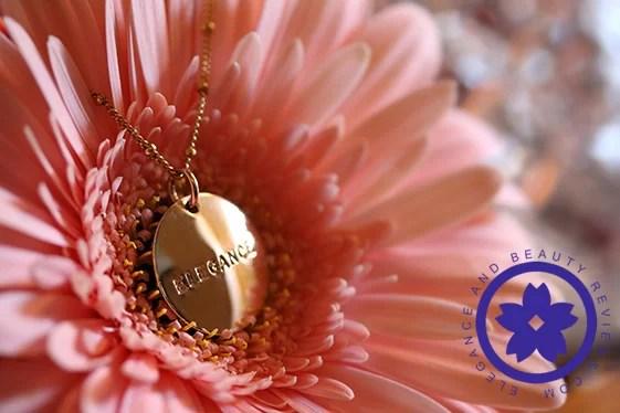 gold necklace jenny present