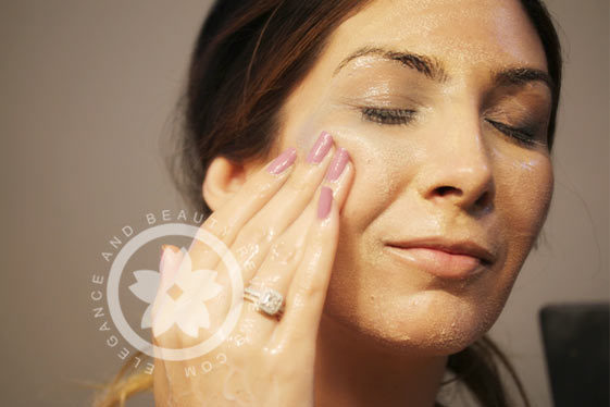 using tatcha to remove my makeup