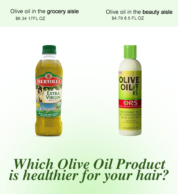 Can Cooking Olive Oil be used for Skin and Hair?