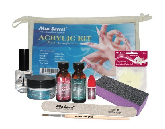 complete acrylic nail kit