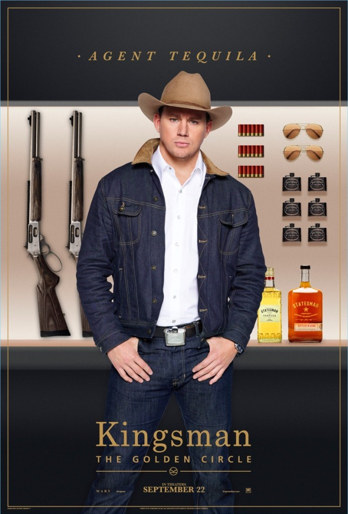 Kingsman-The-Golden-Circle-Poster-Channing-Tatum-Agent-Tequila
