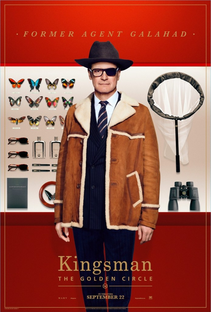 Kingsman-The-Golden-Circle-Poster-Colin-Firth-Former-Agent-Galahad