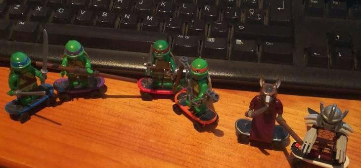 Tortugas Ninja de Lego