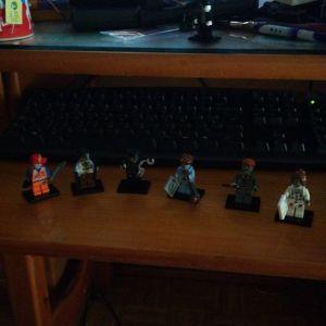Pack de 6 de Zombies LEGO