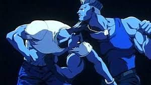 Ryu VS Guile Anime