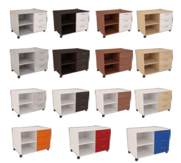 armoire de rangement design modulable