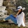 Elegant Aware Mayan Ruins
