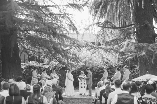 The Hintz Wedding at this beautiful garden spot