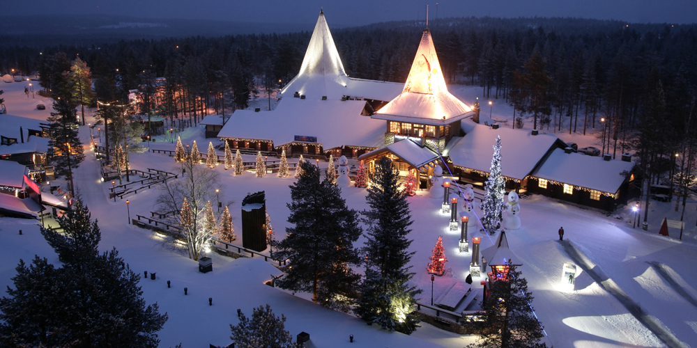 Christmas With Santa Claus And New Years Eve In Stockholm