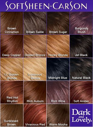 Softsheen Carson Dark and Lovely Ultra Vibrant Permanent Hair Color