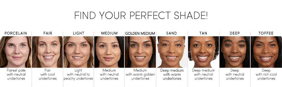 how to find the right foundation shade