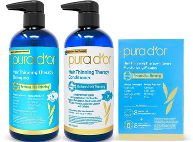 PURA D'OR Hair Thinning Therapy 3-piece Set