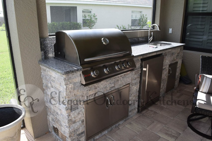 Custom Outdoor Kitchen Manufacturing Services of Fort Myers, Florida
