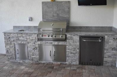 Ben Poulton Outdoor Kitchen Construction - Elegant Outdoor Kitchens of Fort Myers, Florida