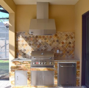 Custom Elegant Outdoor Kitchens Build - Ben Poulton of Fort Myers, Florida