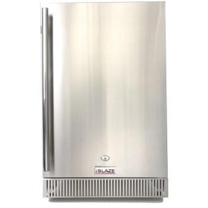 Blaze 4.1 Cu. Ft. Outdoor Stainless Steel Compact Refrigerator – UL Approved