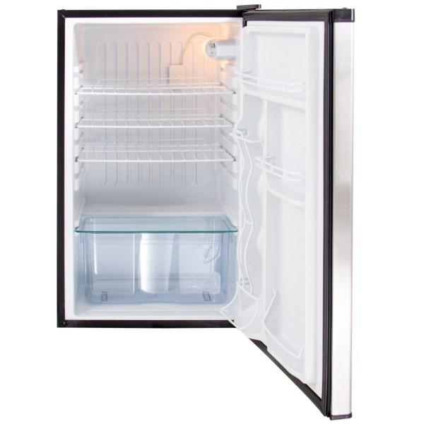 Blaze Stainless Front Refrigerator 4.5 CU - Open Refrigerator Door