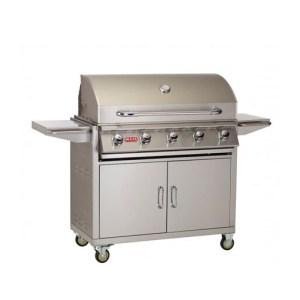 """38"""" 5-Burner Renegade Grill Cart"""