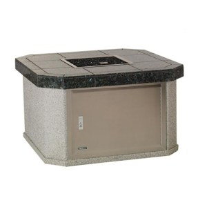 BULL Small Square Fire Pit