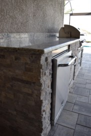 Custom Barbecue Island by Elegant Outdoor Kitchens of Southwest Florida