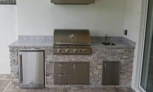Featured Custom Outdoor Kitchen Design - Southwest Florida