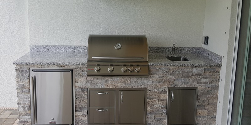Featured Custom Outdoor Kitchen Design - Southwest Florida