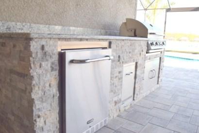 Outdoor Kitchen of Estero Corkscrew Shores
