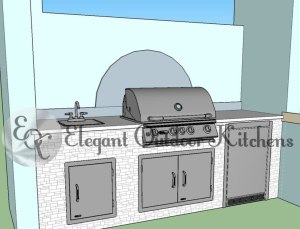 Concept Outdoor Kitchen - Elegant Outdoor Kitchens Pelican Preserve Prato WCI Fort Myers