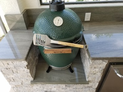 Large Big Green Egg Kamado Style Outdoor Grill