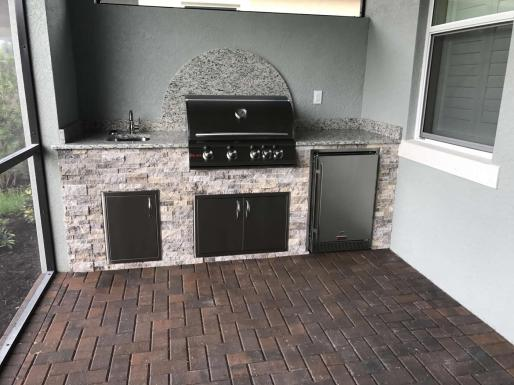 Outdoor Kitchen Prato Pelican Preserve Fort Myers, Florida