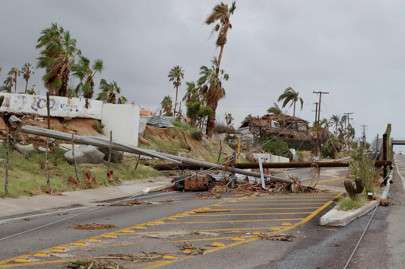 Hurricane Irma Ripping Through the Florida Coast