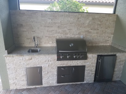 Hampton Park at Gateway Custom Outdoor Kitchen