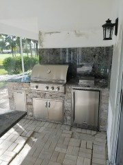Custom Elegant Outdoor Kitchens Outdoor Living Area Design