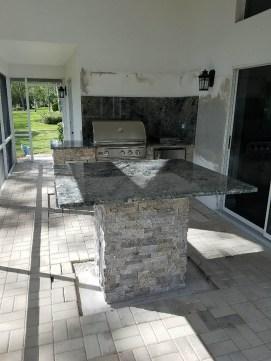 Delirium Granite Freestanding Table-Bar Top Area