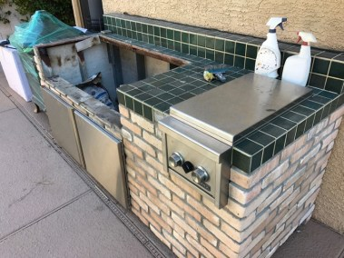 Outdoor Kitchen Structural Corrosion - Full Shot