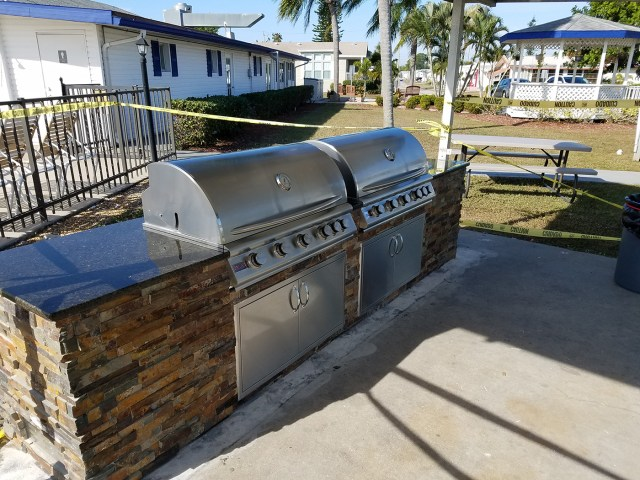 """dueling grills """"the sequel"""" - custom commercial hoa outdoor kitchen"""