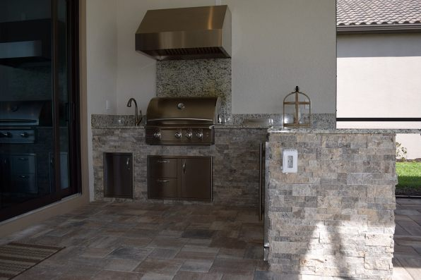 Outdoor Kitchen by Elegant Outdoor Kitchens, Fort Myers, FL.-07