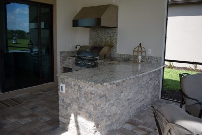 Outdoor Kitchen by Elegant Outdoor Kitchens, Fort Myers, FL.-06