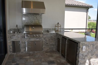 Outdoor Kitchen by Elegant Outdoor Kitchens, Fort Myers, FL.-04