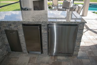 Outdoor Kitchen by Elegant Outdoor Kitchens, Fort Myers, FL.-02