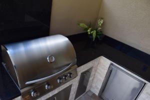 Outdoor kitchen Blaze grill