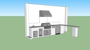 Outdoor kitchen construction Naples, Florida