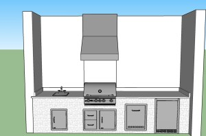 outdoor kitchen designs estero