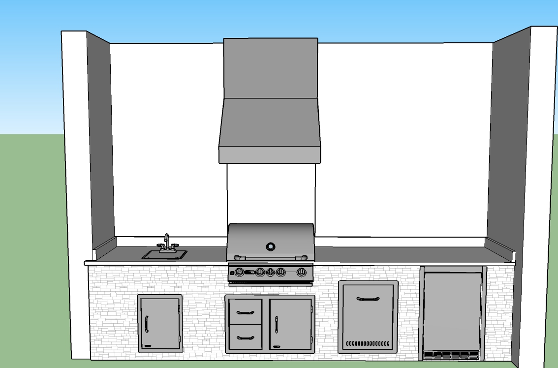 outdoor kitchen designs estero