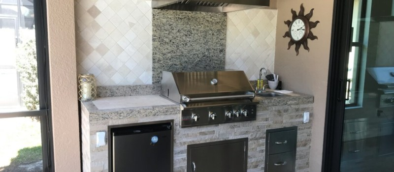 outdoor kitchen remodel