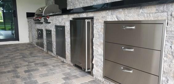 The Longest Custom Outdoor Kitchen that Elegant Outdoor Kitchens has Ever Built
